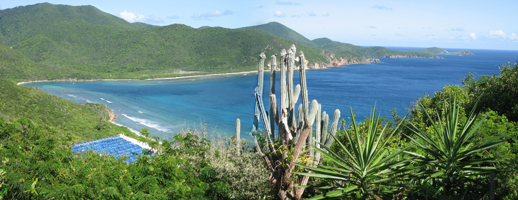 St John USVI Vacation Rental Soft Winds expansive Reef Bay and ocean views